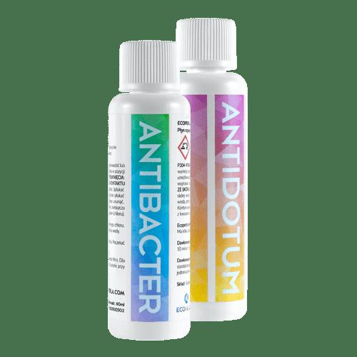 płyn antibacter i granulat antidotum